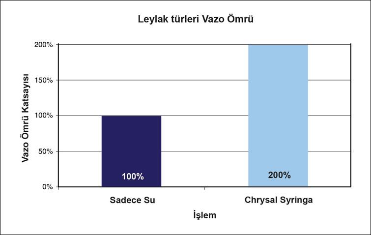 Chrysal Clear Syringa food- Leylak türleri için özel besin