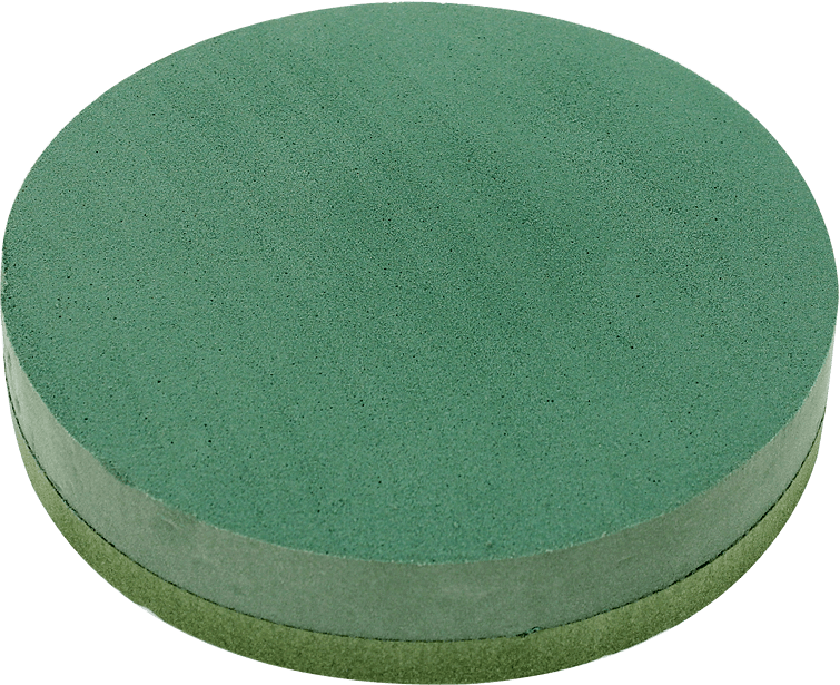 Chrysal Foam Posy pad Köpük tabanlı daire köpük